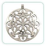Colgante Mandala étnica Flor anilla trasversal MNew* COLOOO-P152