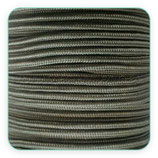 Cordón de Nylon de Escalada Redondo 3mm verde militar (3 metros)