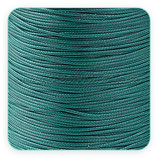 Cordón plastificado verde azulado New* 1mm (4 metros)