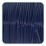 Cordón plastificado azul marino oscuro 2mm (4 unidades)