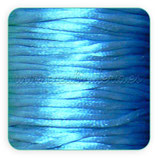 Cola de ratón color azul claro rollo 50m