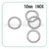 INOX - Anillas 10mm C10273 EXTRAFUERTES  (25 unidades)