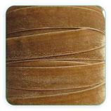 Cinta terciopelo elástico 10mm color Camel