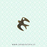 Charm ANIMALES - Pájaros - 1 - Golondrina  -  (10 unidades)