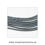 Cordón de Nylon de Escalada Redondo 2mm aprox. gris  fino  (3 metros)
