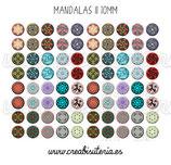 80 Imágenes de mandalas II 10x10mm