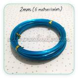 Aluminio 2mm 3METROS/color AZUL PACK 2