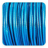 Cordón plastificado azul medio 1,5mm (4 metros)