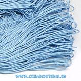 Cordón de Nylon de Escalada Redondo 2mm aprox.  azul bebé  (3 metros)