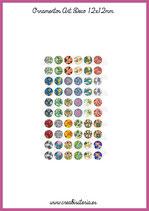 60 Imágenes Ornamentos Art Decó I 12x12