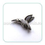 Entrepieza - p4 - 56 colibri plateado antiguo ENTOOO-CS4280 (10 UNIDADES)