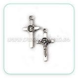 Charm cruz figura Jesús (10 unidades)