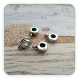 Entrepieza con ASA - EA-025-rayado plata vieja (10piezas) ENTOOO-14343