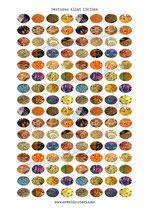 128  texturas Klimt 13x18mm