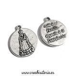 Charm medalla Virgen de la Consolación (10 unidades)