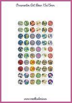60 Imágenes Ornamentos Art Decó I 15x15