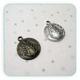 Charm medalla Virgen del Rocio COLOOO- Z36589 (10 unidades)