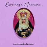 Cabuchón Cristal Religión - Esperanza Macarena