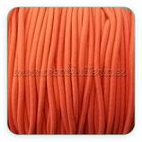 Cordón de goma naranja 2mm (15 metros)