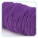 Cordón de goma morado - lila  2mm (15 metros)