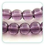 Abalorio cristal Púrpura 4mm ( tira de 84 abalorios aprox) ABAL-Cristal C06Y