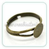 Base anillo bronce antiguo ANI-C17268
