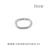 INOX - ANILLA ovalada 7x5mm C615  (40 unidades)