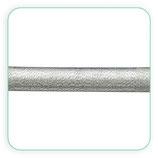 Cordón de Nylon y PVC 46x5mm Plateado