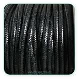 Cordón plastificado negro 3mm (4 metros)