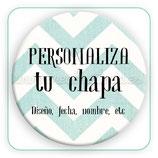 CHAPA PERSONALIZADA