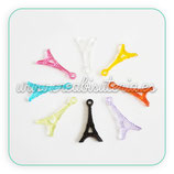Charm torre Eiffel resina colores (5 unidades) CHAOOO-CN