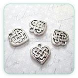 Charm corazón celta (5 unidades) CHAOOO-R3710