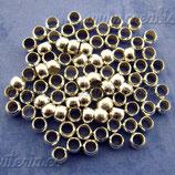 Chafas plateadas 3mm de diametro ACCCHA-C01251 (40 unidades)