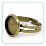 Anillo bronce antiguo 14mm ANIOOO-C10645