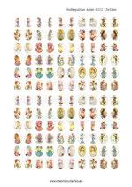 120 Imágenes de muñecas de ilustraciones de años 80III 13x18mm