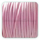 Cordón plastificado rosa pálido 1,5mm (4 unidades)