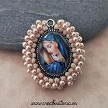 Producto Acabado - Medalla religiosa - La Virgen María