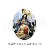 Cabuchón Cristal Religión - Virgen de la Caridad Cartagena