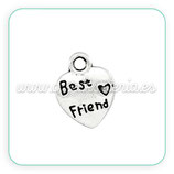 "Charm ""best friend"" (10 unidades) CHAOOO-C21378"