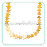 Concha en forma estrella color amarillo 10mm. Entrepieza(10 unidades) CONCH-C40303