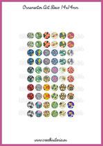 60 Imágenes Ornamentos Art Decó I 14x14