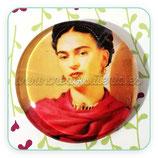 Cabuchón Cristal Frida modelo mantón rojo