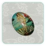 Cabuchón Cristal estampado ARTE Nacimiento de Venus de Botticelli