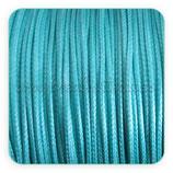 Cordón plastificado azul claro  finito 1mm (4 metros)
