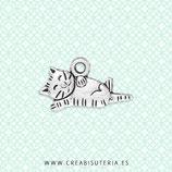 Charm gato tumbado panza  CHAOOO-L02 (10 unidades)