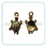 Charm tortuga bronce viejo  CHAOOO-C14451 (10 unidades)