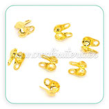 Tapanudos dorados (50Unid) ACCTAP-C863