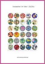 30 Imágenes Ornamentos Art Decó I 25x25mm