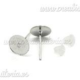 Pendiente base botón (20 pares)  ACCBAS-C17128