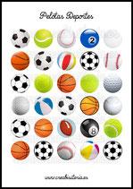 Imágenes de pelotas y balones de deportes